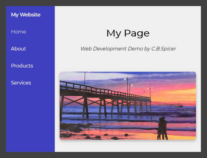 How to Create a Responsive Website Header - Part 1 - Web Development Post by Christopher Spicer