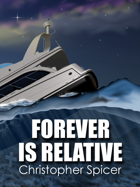 Forever is Relative: Illustrated Lyric Poetry Collection by Christopher Spicer - Book Cover